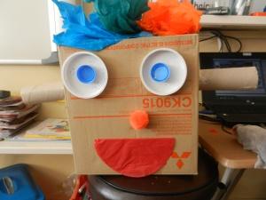 Junk Art Robot