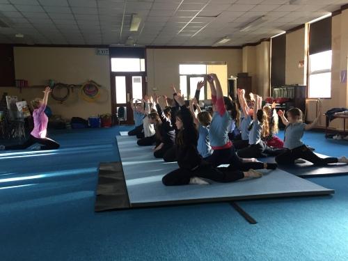 Gymnastics with Freda!